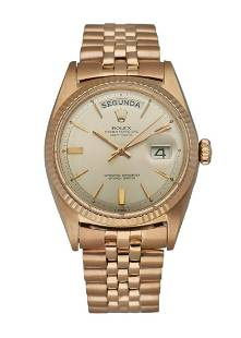 Rolex Day Date President 1803 18K Rose Gold Men's Watch