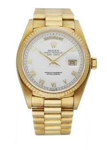 Rolex Day Date President 18038 Men's Watch