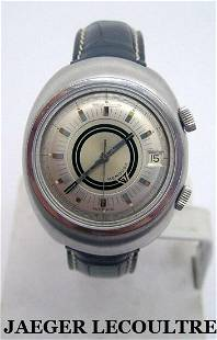 S/Steel JAEGER LeCOULTRE MEMOVOX Alarm Automatic Watch