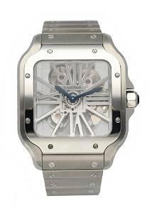 Cartier Santos WHSA0015 Large Skeleton Men's Watch Box