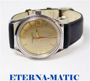 ETERNA-MATIC 3000 Automatic Watch c.1970 Cal.1466U*