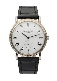 Patek Philippe Calatrava 5119G White Gold Mens Watch