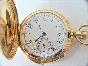 Antique 18K TIFFANY & CO Minute Repeater Chronograph