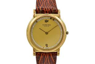 Vintage Raymond Weil Geneve 9145 Gold Plated Midsize