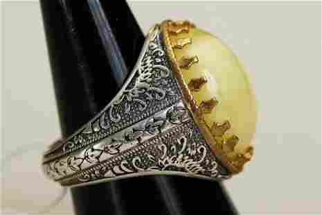 925 silver ring 0,39 oz stamped with tag