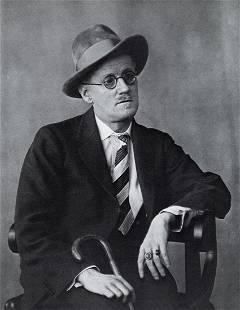 BERENICE ABBOTT - James Joyce