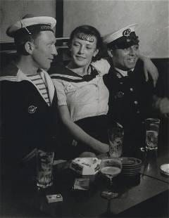 BRASSAI - Conchita With Sailors, Paris, 1933