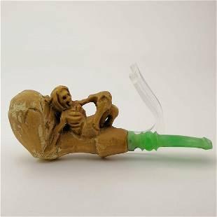 Skeleton,Meerschaum Cigarette Holder