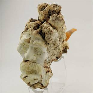 Natural Style Meerschaum Pipe