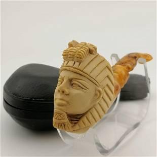 Egyptian Pharaoh,Meerschaum Pipe