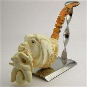 Nude Lady Elephant,Meerschaum Pipe