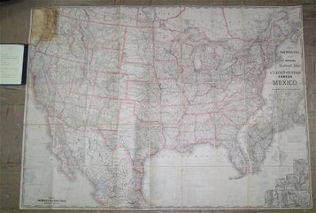 Rand, McNally & Co.'S New Official Railroad Map of the