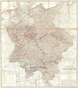 General-Charte Von Teutschland