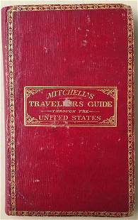 Mitchell's Traveller's Guide Through the United States.