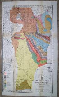 Geological Map of Western Wyoming