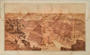 1882 Holmes/Dutton Panorama View of the Grand Canyon