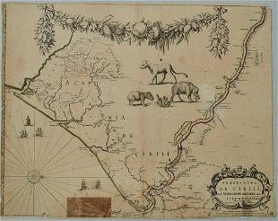 1730 Covens & Mortier Map of Parts of Coastal Brazil --
