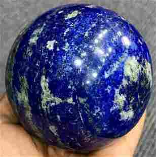 1 Kg Royal Blue Lapis Lazuli with Pyrite Combine Sphere