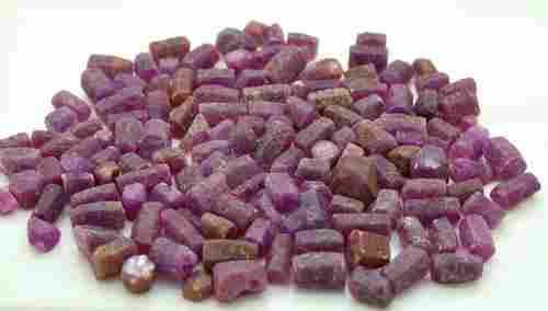 182 Grams Natural Ruby Corundum Crystals
