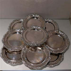 Early 19th Century Antique George IV Sterling Silver