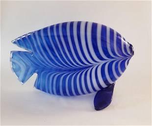 Nuutajarvi Pro Aete Art Glass Fish