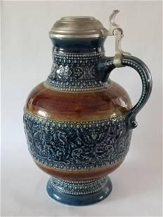 Rare German Marzi & Remi Stoneware Stein