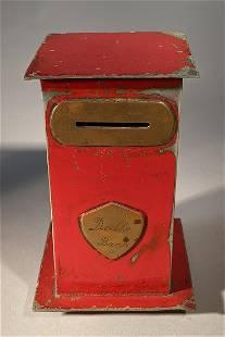 Adorable Doll's Bank c. 1890