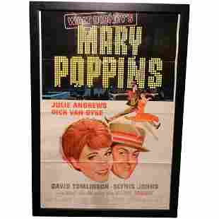 Vintage 1973 Re-Release Disney's Mary Poppins
