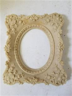 Rubber frame