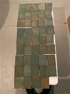 1916-1923 Little Leather Library - 44 Volumes