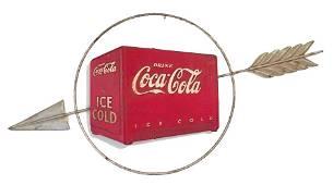 Coca Cola 3D Kay Display Cooler Sign