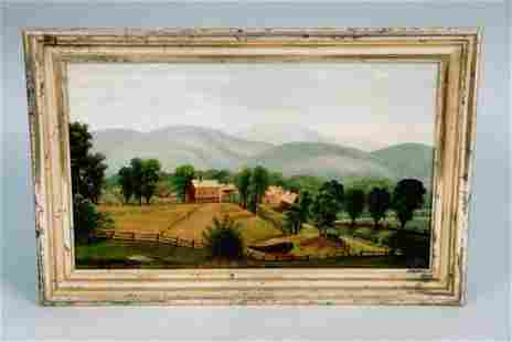 A good mid 19th century primitive New England farm