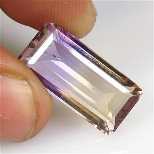 10.83 Ctw Natural Purple Ametrine Octagon Cut