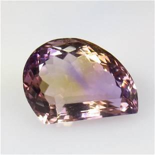 13.10 Ctw Natural Purple Ametrine Fancy Cut
