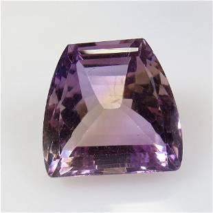 23.19 Ctw Natural Purple Ametrine Fancy Cut