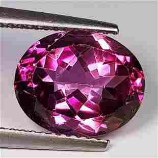 Natural Pink Topaz Oval Cut 5.27 ct