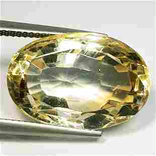 20.60 ct Natural Citrine Oval Cut