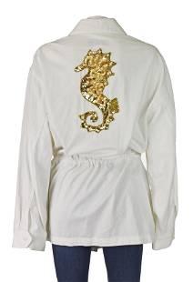 La Costa Luxury Resort Vintage Cotton Twill Zipper