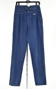 Rare Vintage Italian POP 84 High Waist Jeans