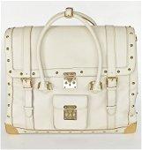 LOUIS VUITTON Rare Le Extravagant White Suhali Leather