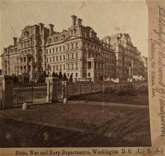 ca. 1900 U. S. STATE, WAR & NAVY DEPARTMENT s
