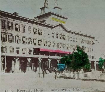 ca. 1890 s HISTORIC VIEW JACKSONVILLE, FLORIDA, EVERETT