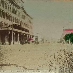 c 1890 s HISTORIC VIEW JACKSONVILLE, FLORIDA, EAST BAY
