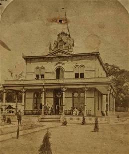 1876 WISCONSIN BUILDING, INTERNATIONAL EXHIBITION,
