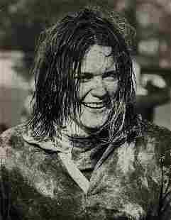 1965 VINTAGE PRESS PHOTO RICHMOND ENGLAND MUDDY FEMALE