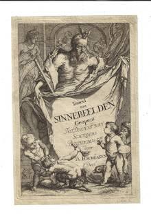 1700 Arnold Houbraken Fine Engraving