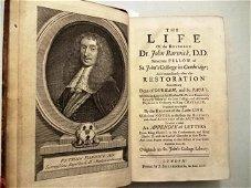 1724 The Life of Reverend John Barwick