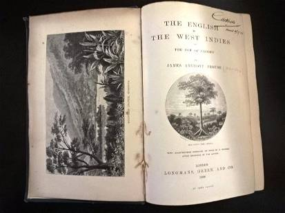 1888 English in the West Indies Froud