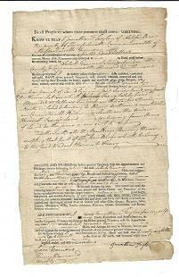 1807 Massachsetts Deed Property in Sunderland