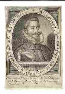 c1620 Engraving Maximilianus